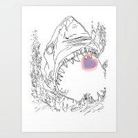Ocean Reprise  Art Print