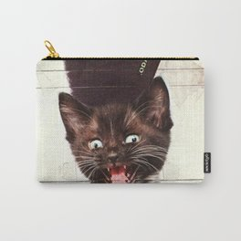 Slave To Kitty Carry-All Pouch