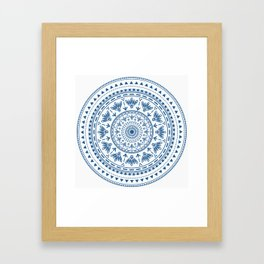 Persian folk Framed Art Print