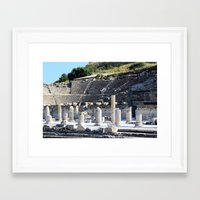 theater Framed Art Prints featuring Theater  by Allisa Thome