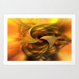 Abstractica Art Print