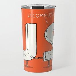 Love confession Travel Mug