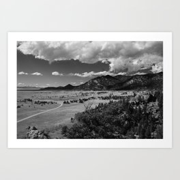 11 Mile State Park, Colorado Art Print