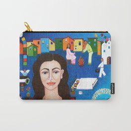 """Violeta Parra and the song """"Black wedding II"""" Carry-All Pouch"""