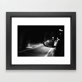 Be Quiet and Drive Framed Art Print