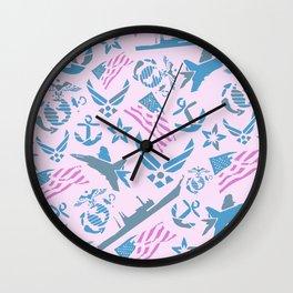 Princess Freedom Wall Clock