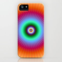 Rainbow Rays iPhone Case