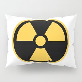 Nuclear Logo Symbol Pillow Sham