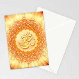 Lotos Om Stationery Cards