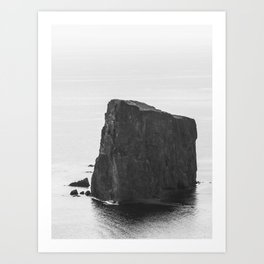 Rocher Percé Art Print