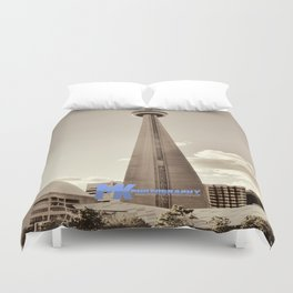 CN Tower Duvet Cover