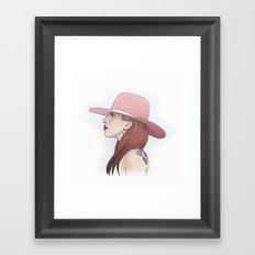 Joanne // LadyGaga Framed Art Print