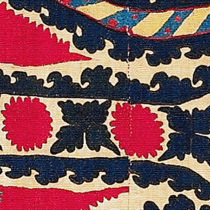 Tashkent Uzbekistan Central Asian Suzani Embroidery Print Leggings