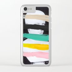 Untitled (Finger Paint 1) Clear iPhone Case