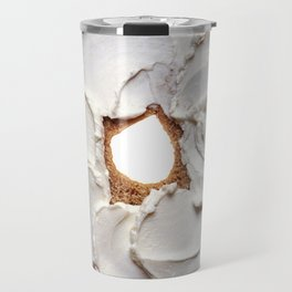 Bagel with Cream Cheese Travel Mug