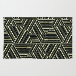 Abstract striped pattern. 1 Rug
