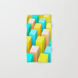 Color Blocking Pastels Hand & Bath Towel