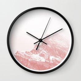 Mountain 02 Wall Clock