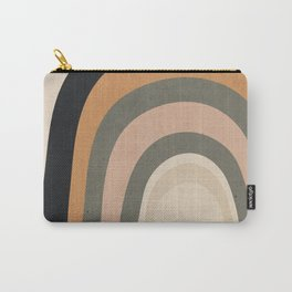 abstract minimal Rainbow Carry-All Pouch