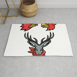 Mythical Creatures Mascot Collection Rug