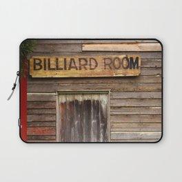 Billiard Room Laptop Sleeve