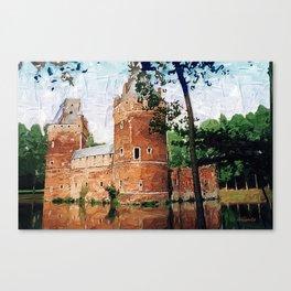 Beersel Castle - Belgium Canvas Print