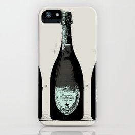Dom Perignon Champagne iPhone Case