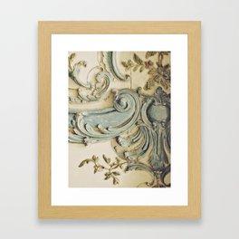 Blue Lace of Versailles Framed Art Print