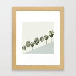 Palm Trees 4 Framed Art Print