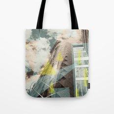 Blue & crystal Tote Bag