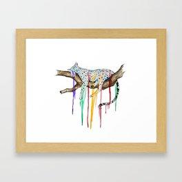Loss of Color Framed Art Print