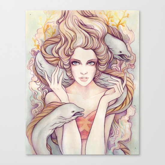 Flotsam and Jetsam Canvas Print
