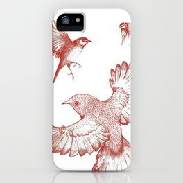 A beat of wings iPhone Case