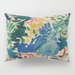 Landscape at Collioure - Henri Matisse - Exhibition Poster Pillow Sham