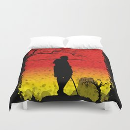 The African Warrior Duvet Cover