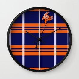 Preppy Gator Wall Clock