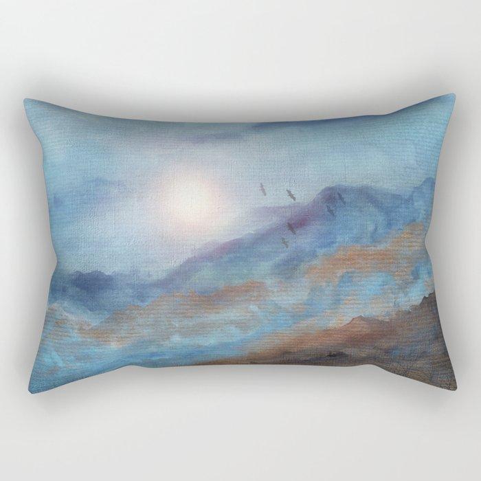 Calling The Sun VI Rectangular Pillow