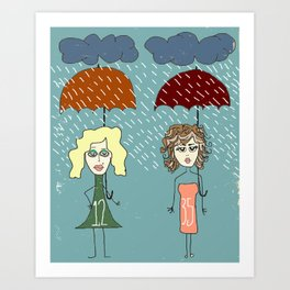 "Bob Dylan ""Rainy Day Women #12 & 35"" Art Print"