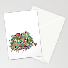 Monster Bunny Stationery Cards