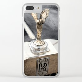 Rolls Clear iPhone Case