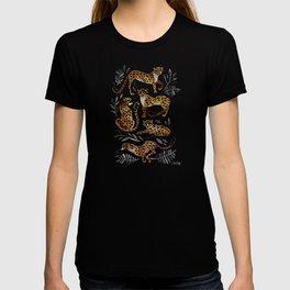 Cheetah Collection – Mocha & Black Palette T-shirt