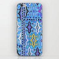 kilim iPhone & iPod Skins featuring Aztec Kilim by EllaJo Design