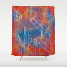 city and its dream Shower Curtain
