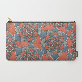 Many Flowers Carry-All Pouch