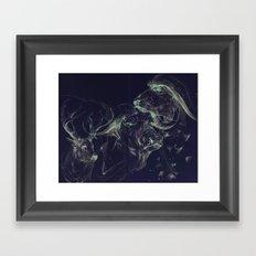 Cape Buffalo Framed Art Print