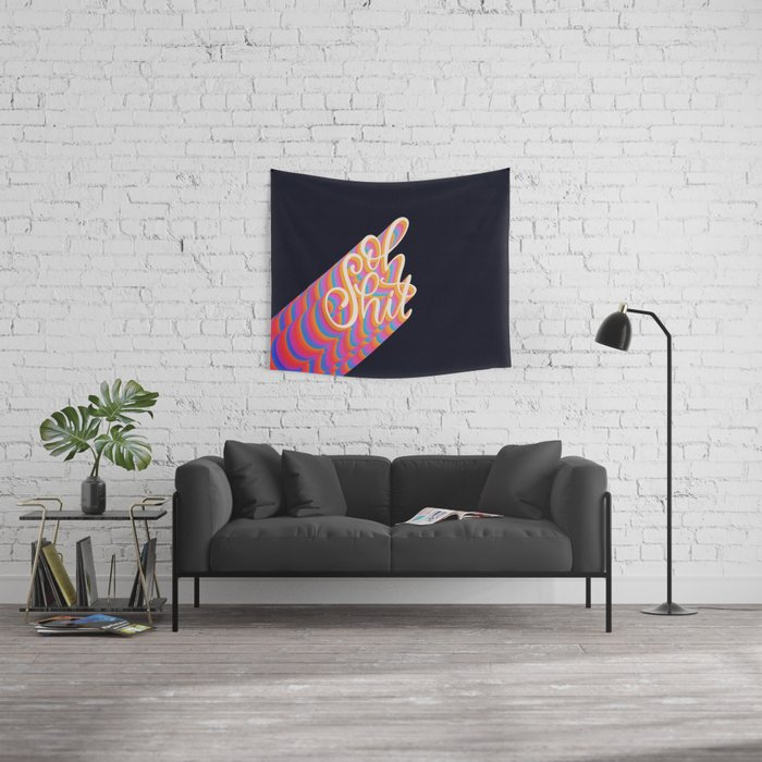Oh shit! Wall Tapestry