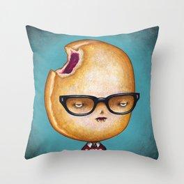 Donutcula Throw Pillow