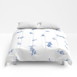 pattern with bunnies Comforters