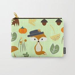 Cute fox in autumn Carry-All Pouch