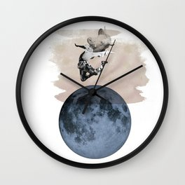 hey diddle diddle 3 Wall Clock